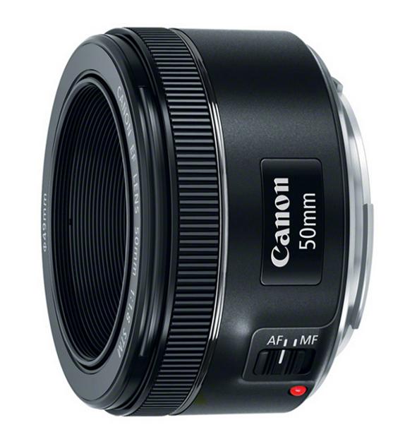 Canon EF 50mm f/1.8 STM Standard & Medium Telephoto EOS Prime Lens 0570C002