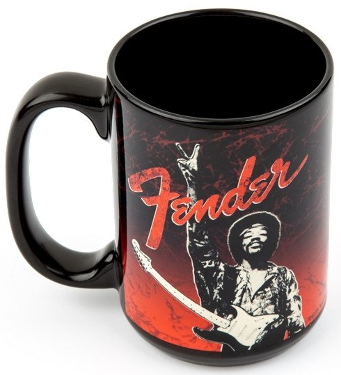 Jimi Hendrix Peace Sign Ceramic Mug