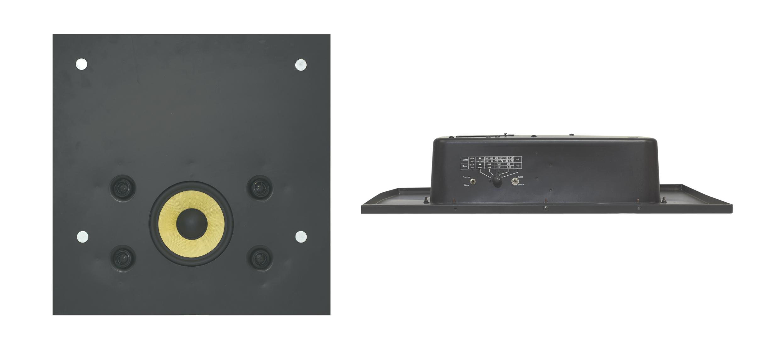 """8"""", 2-Way Ceiling Tile Stereo Speaker"""