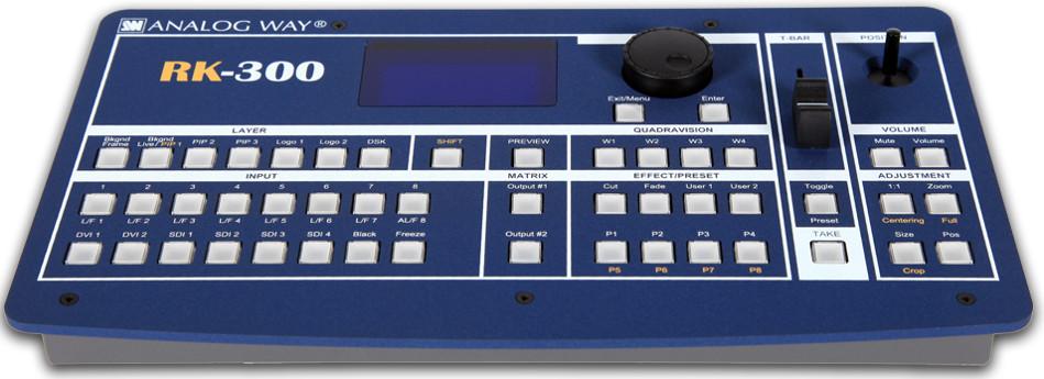Remote Control Switcher Keypad with Mini Joystick