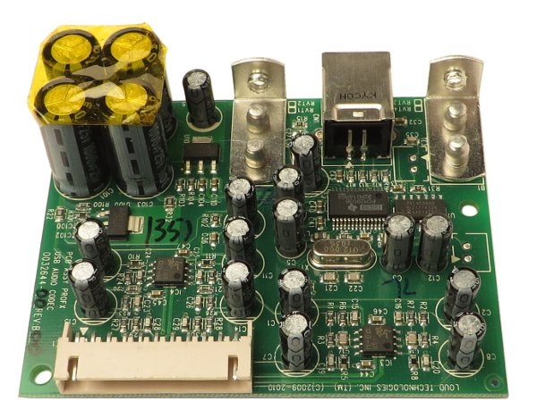 USB Audio Codec PCB Assembly for ProFX8