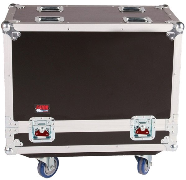 "Tour Style Transporter Case for Two 12"" Speakers"