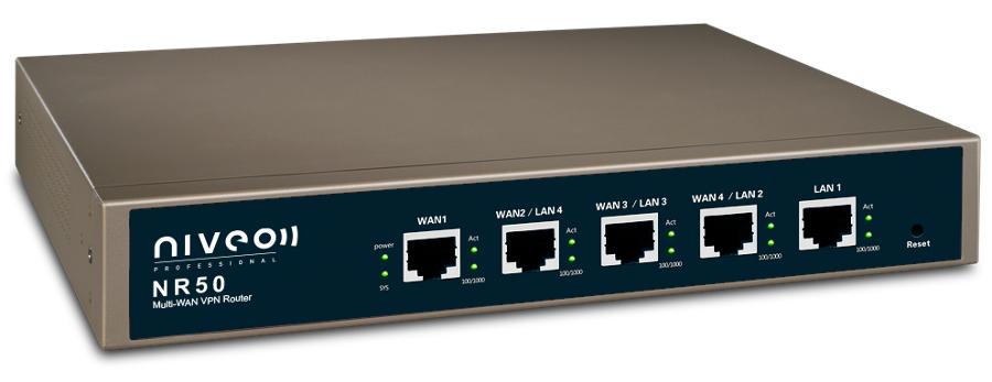 Multi WAN Load Balancing VPN Router