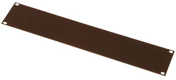 1RU Flat Steel Blank Rack Panel