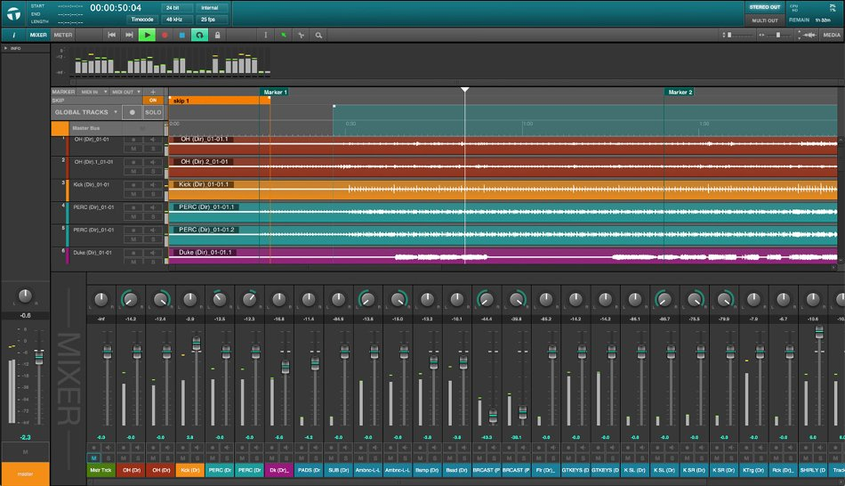 Multitrack Live Recording Software