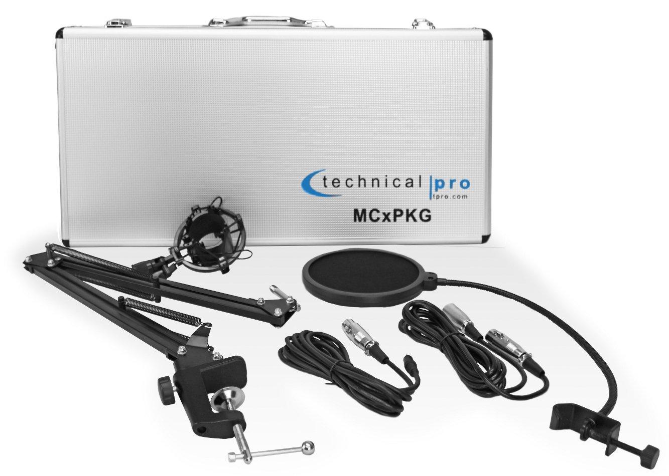 Technical Pro MCXPKG  Condenser Microphone Starter Package MCXPKG