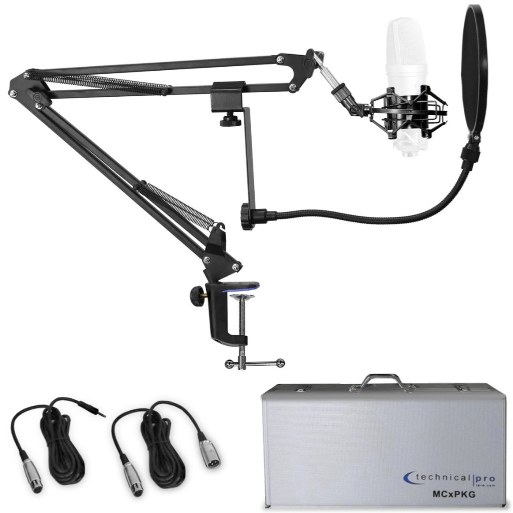Condenser Microphone Starter Package