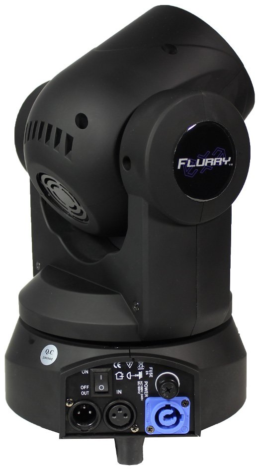 Blizzard Lighting Flurry EXA Mini Moving Head Wash, RGBAWUV FLURRY-EXA