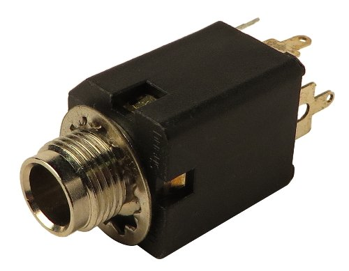 "1/4"" Input Jack for GMX110, BG412F, GM212, ACX1000, and Xenyx 802"