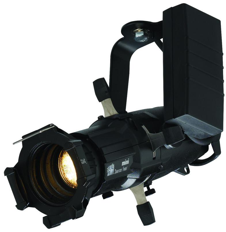 ETC/Elec Theatre Controls 4M50L-1 Portable Source Four Mini LED Fixture in White with 50° Field Angle 4M50L-1