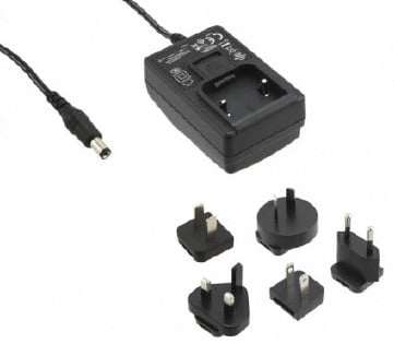 12V 1.25A AC Adapter for Spectra 500F, 900F, 900FT LED Lights