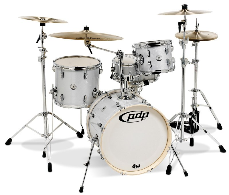 4-Piece Shell Pack with Diamond Sparkle Finish