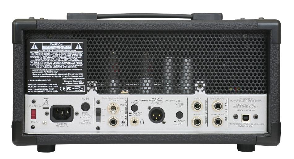 20W Tube Guitar Amplifier Head