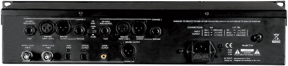 ART Digital MPA-II 2-Channel Tube Microphone Preamplifier with A/D Conversion DMPAII