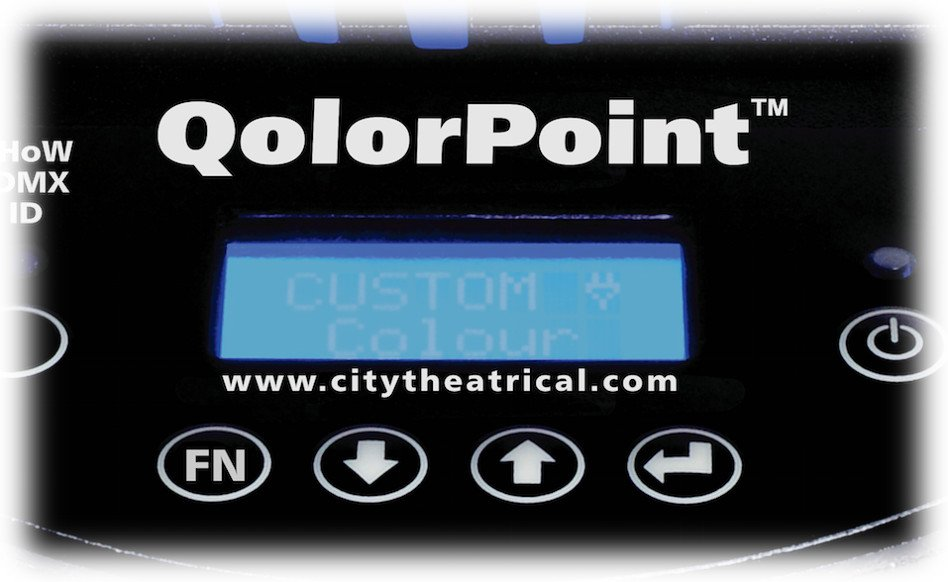 City Theatrical QolorPoint RGBNW IP Model 7000 Uplight 7000