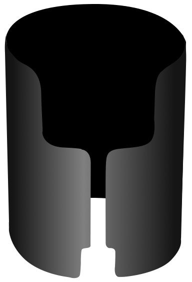 Black Shroud for ColorPoint 7000 Uplight