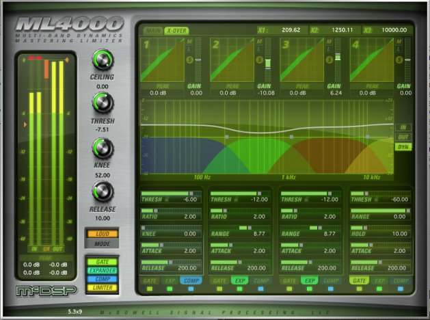 High-Resolution Limiter and Multi-Band Dynamics Plug-in, AAX DSP/Native, AU, VST Version
