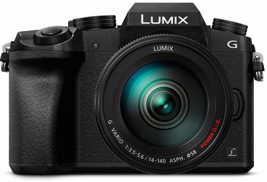 16MP LUMIX G7 Interchangeable Lens Camera Kit with 14-140mm Lens in Black