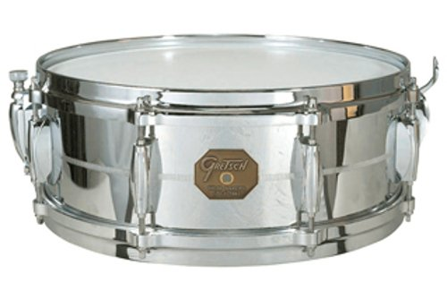 "5""x14"" Chrome Over Brass Snare Drum"