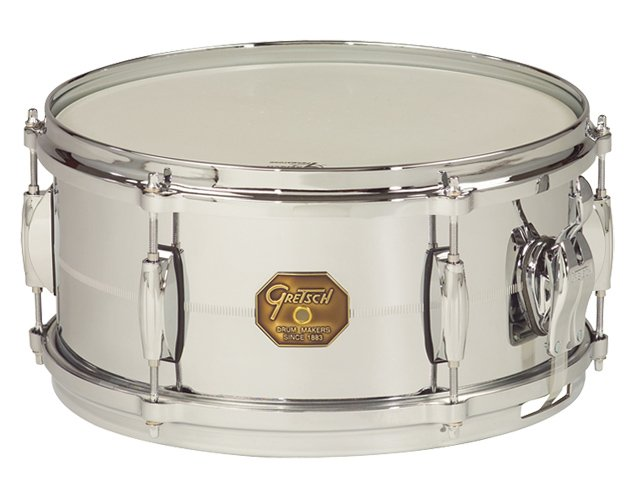 "6""x13"" Chrome Over Brass Snare Drum"