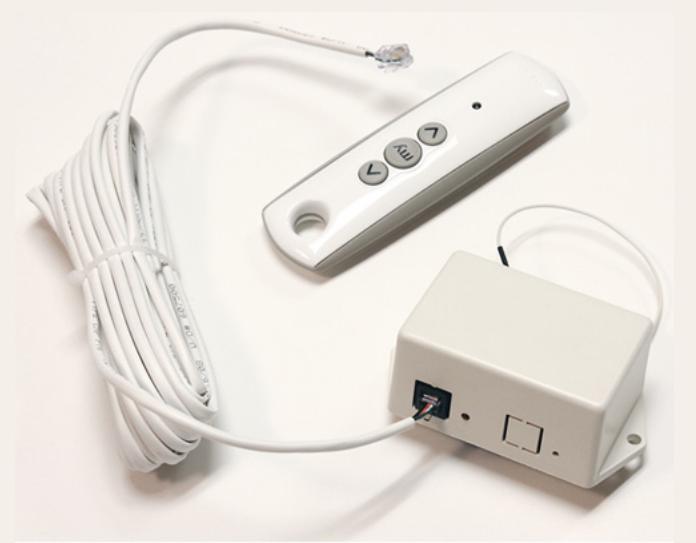 110V ILT RF Transmitter/Receiver in White