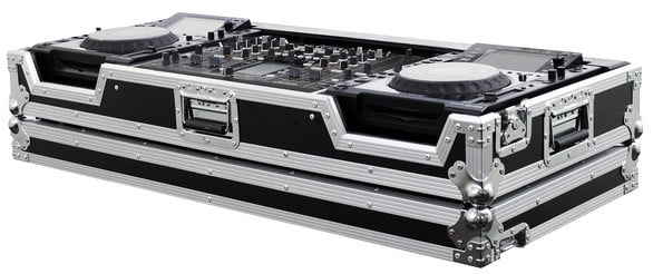 Odyssey FZPI22000W  Flight Zone DJ Coffin Case for Pioneer DJM-2000 and 2x CDJ-2000 FZPI22000W