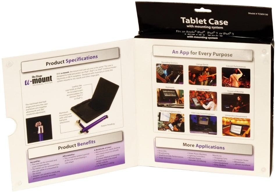 u-mount iPad Mounting System / Folio Case