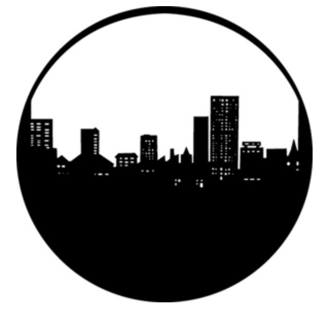 City Skyline Steel GAM Gobo