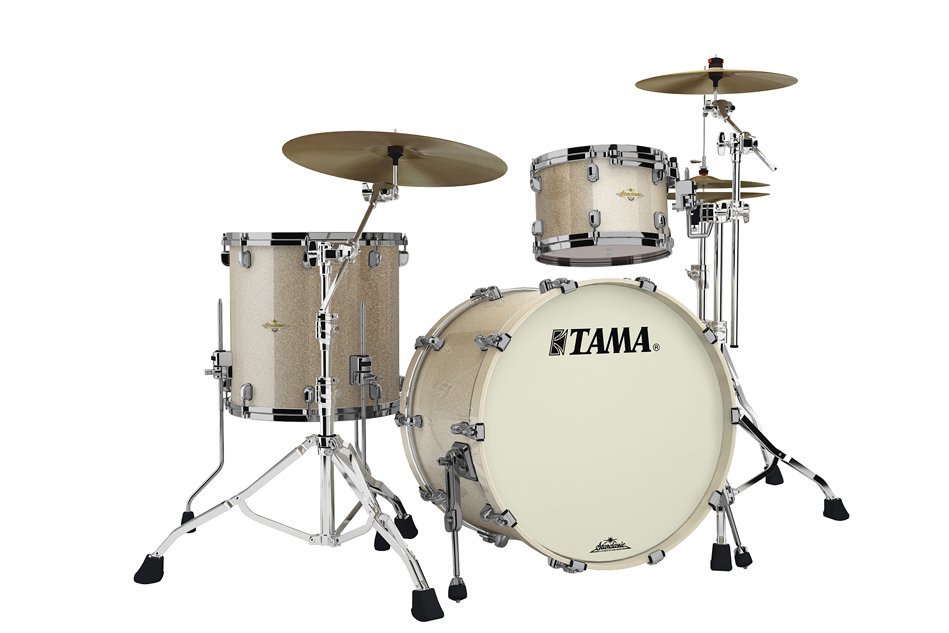 Starclassic Bubinga 3 Piece Shell Pack in Champagne Sparkle Finish