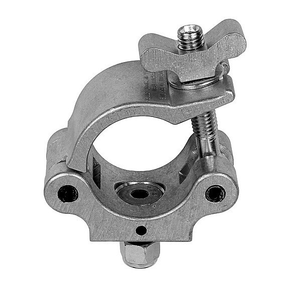 Mega-Coupler with Flat Head Bolt and Metric Hardware in Silver