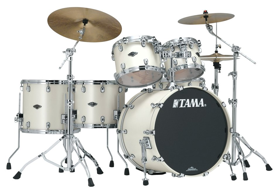 5 Piece Starclassic Performer B/B Shell Kit in Satin Pearl White Finish