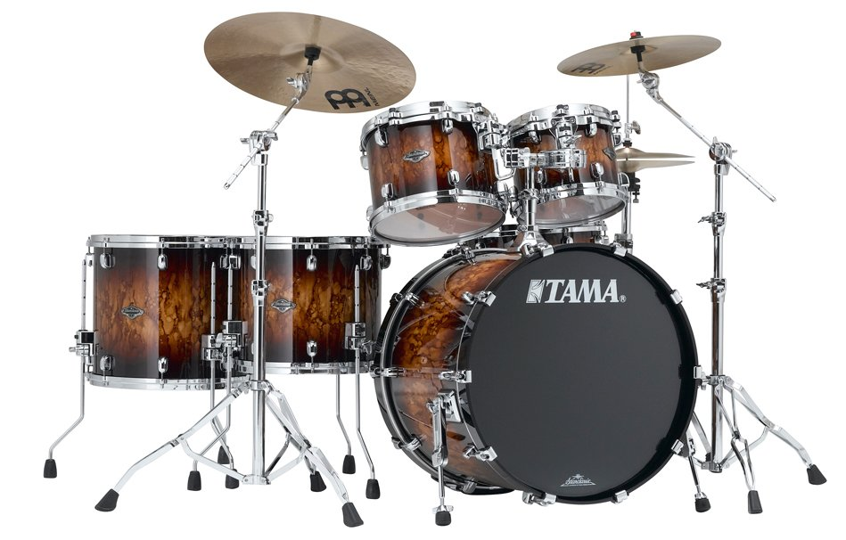 5 Piece Starclassic Performer B/B Shell Kit in Molten Brown Burst Finish