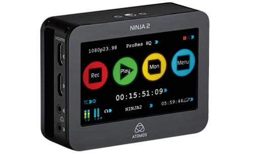 EOS C100 with Dual Pixel CMOS AF with Atomos Ninja2