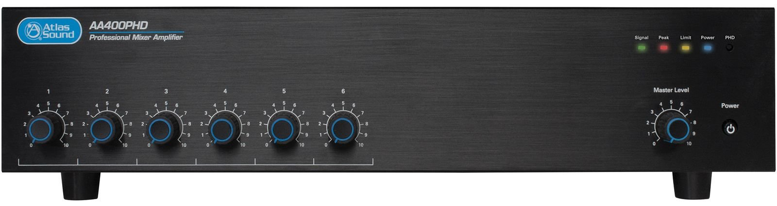 6-Channel Input, 400W Amplifier Mixer