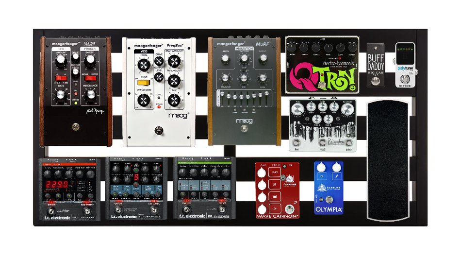 """5-Rail 32"""" Wide Pedalboard with Soft Case"""