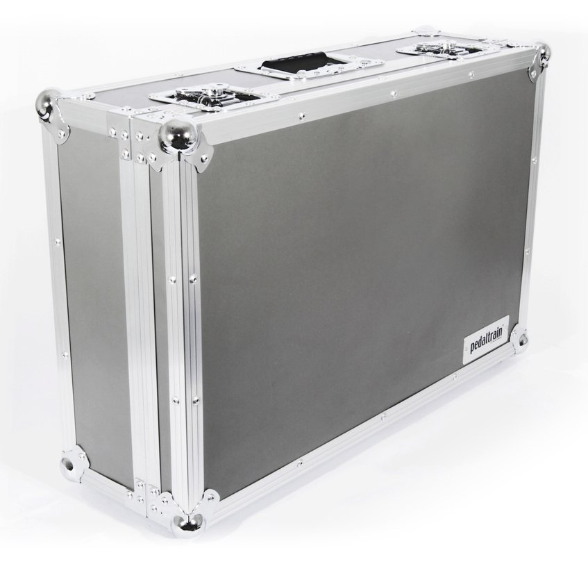 """Five-Rail 24"""" Wide Pedalboard with Tour Case"""