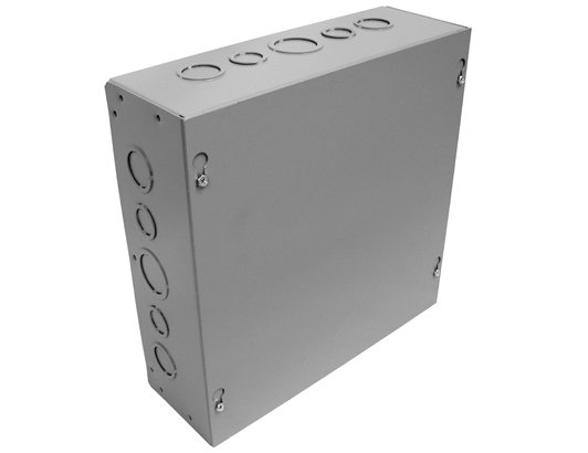 Wall Box W/Knock Outs 12x12x4