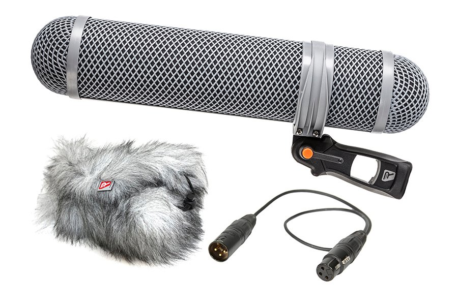 Super Shield Shotgun Microphone Windshield and Shock Mounting Kit, Large