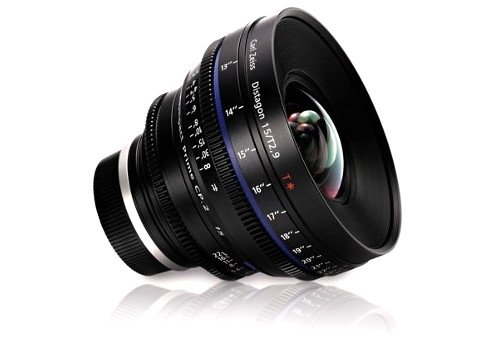 Compact Prime CP.2 2.9/15 T* - feet Lens with EF-Mount