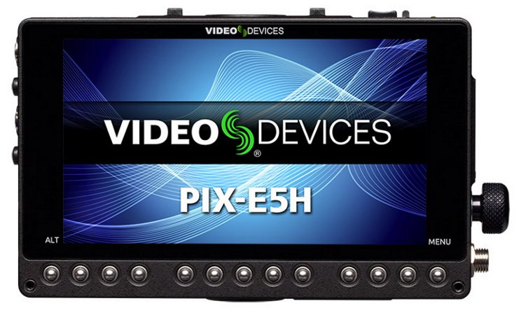 "5"" 1920 x1080p 441 ppi Portable Recording Field Monitor with HDMI"