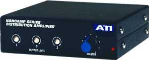 Distribution Amp, 1x3, XLR I/O