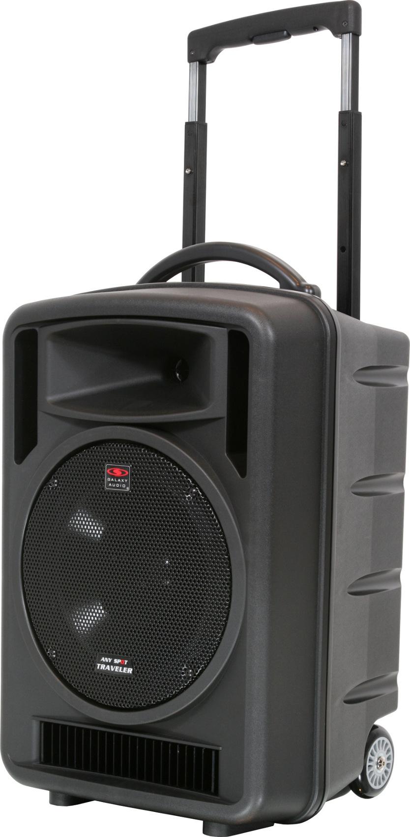PA System,Traveler 10, w/ CD Player, Lav Mic