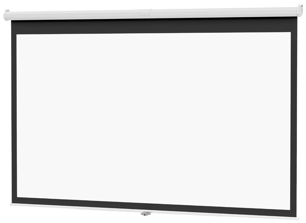 "84"" (50""x67"") 4:3 Deluxe Model B Projector Screen with Matte White Surface"