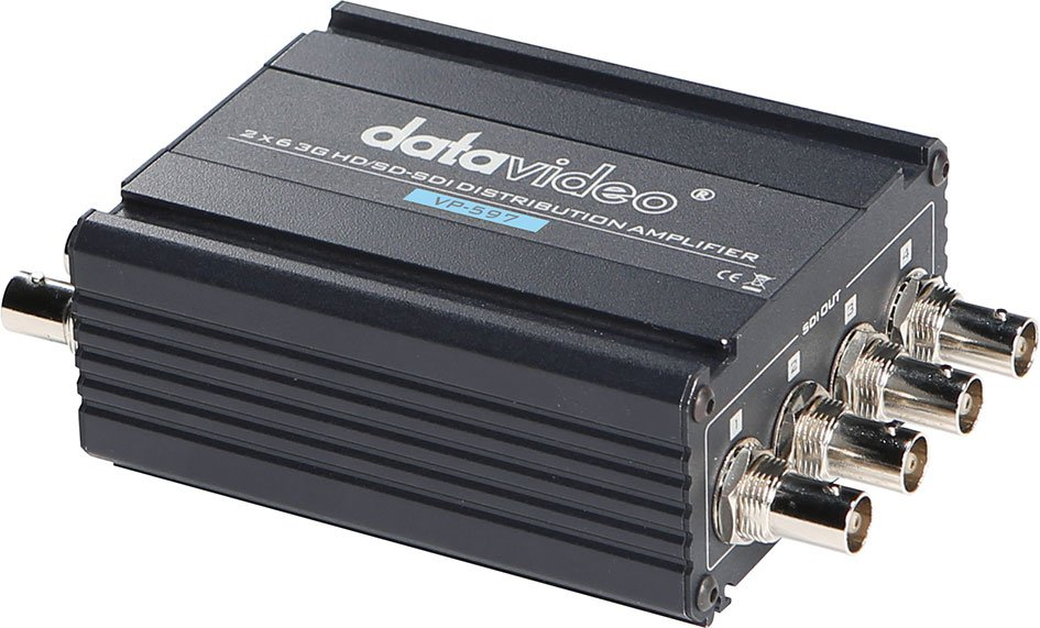 2x6 3G/HD/SD-SDI Distribution Amplifier