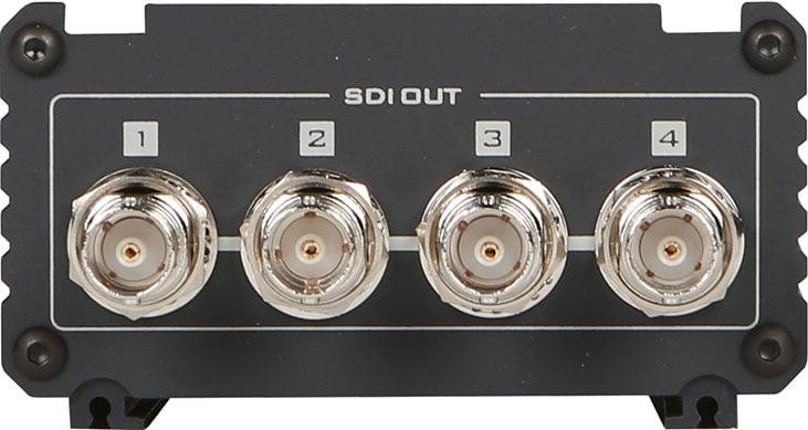 Datavideo Corporation VP-597  2x6 3G/HD/SD-SDI Distribution Amplifier VP-597