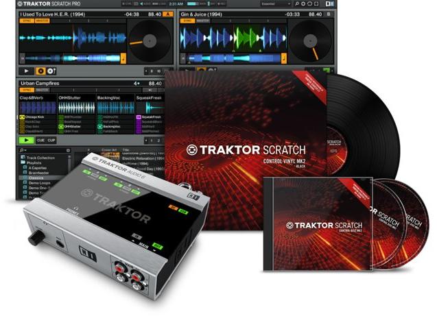 4-Deck Digital Vinyl System Package