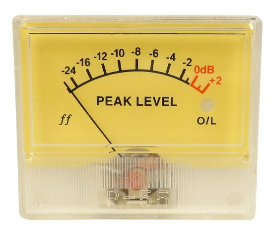 VU Peak Meter for ISA428