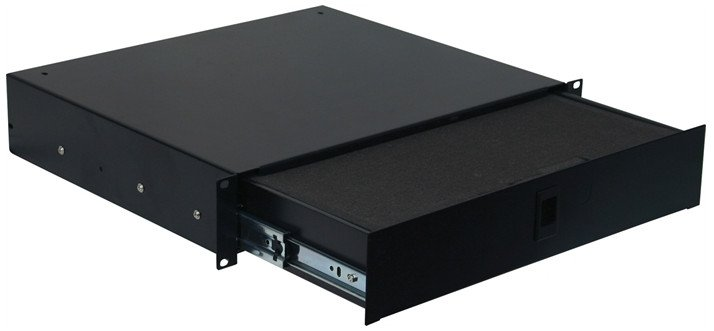 """2RU Drawer with Diced Foam and 14.2"""" Depth"""