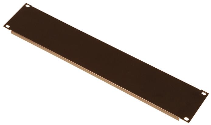 1RU Flanged Steel Blank Rack Panel