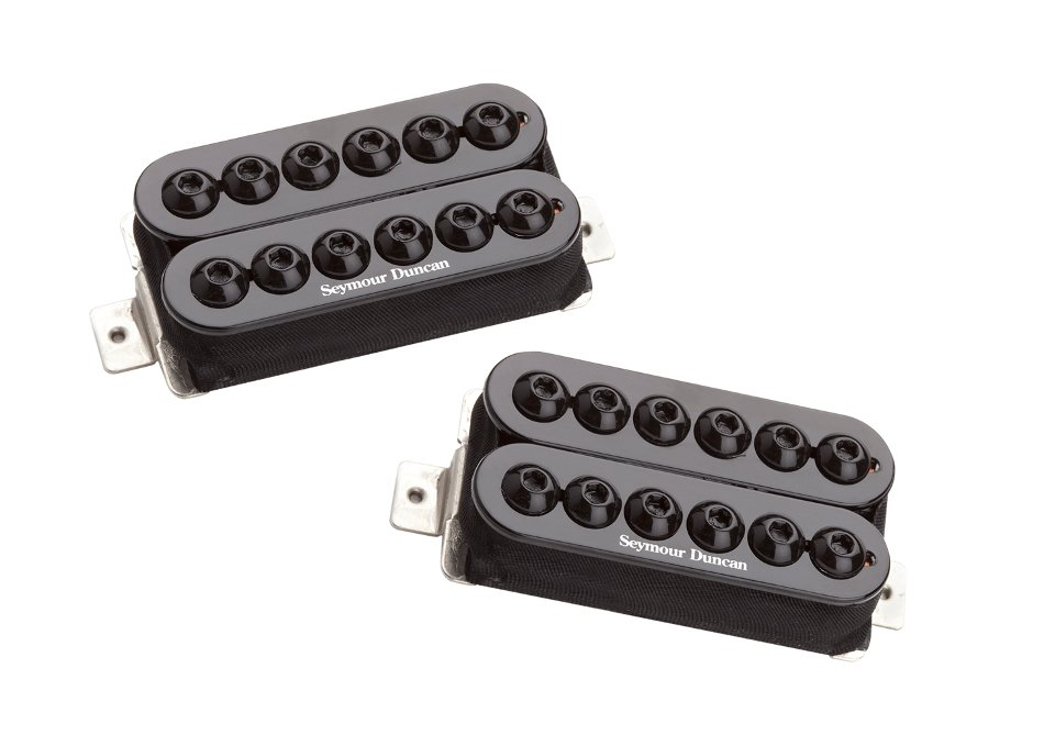 High-Output Humbucking Pickups in Black, Set of 2